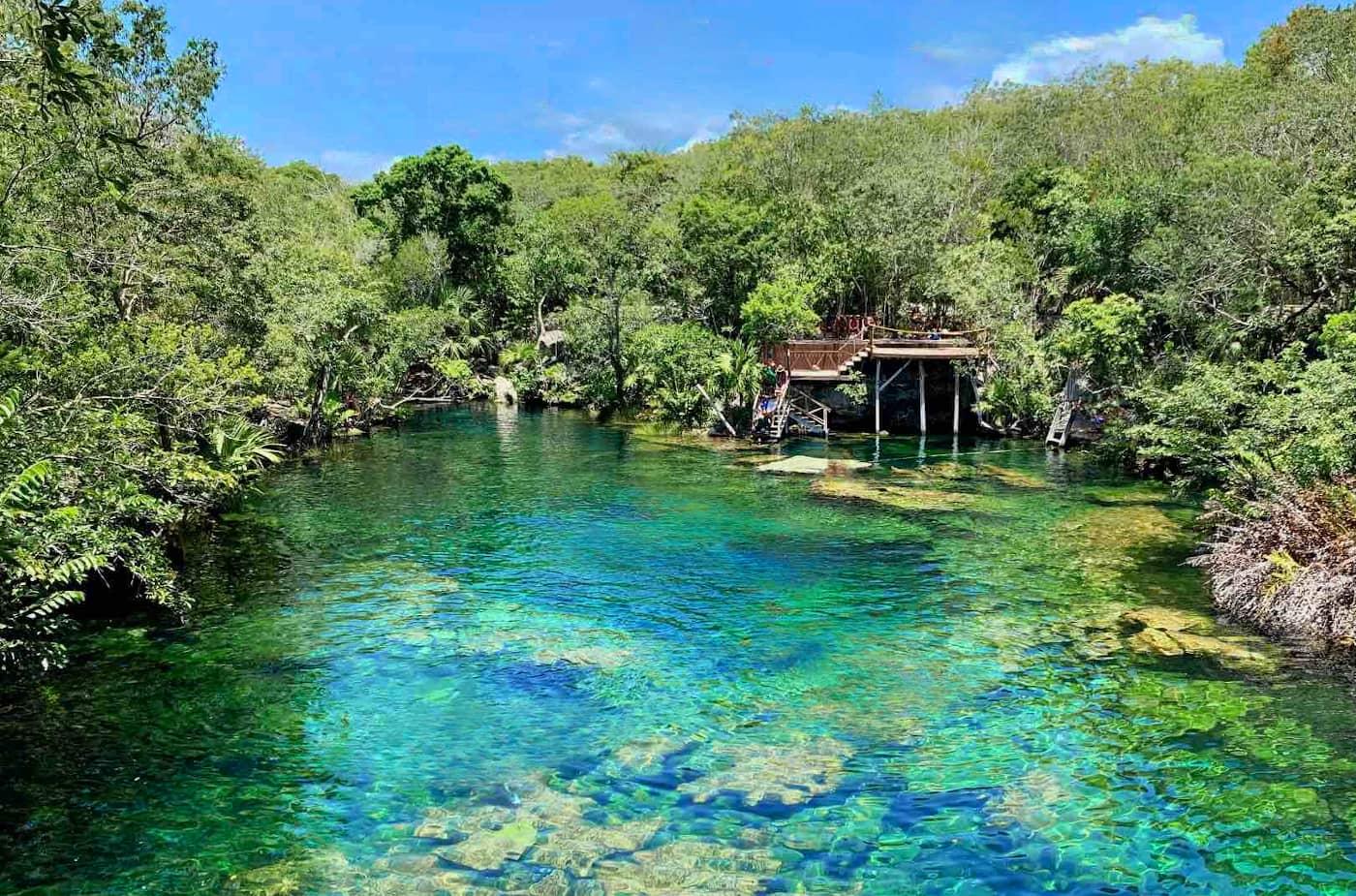 Cenote Pondesora o Jardín del Edén