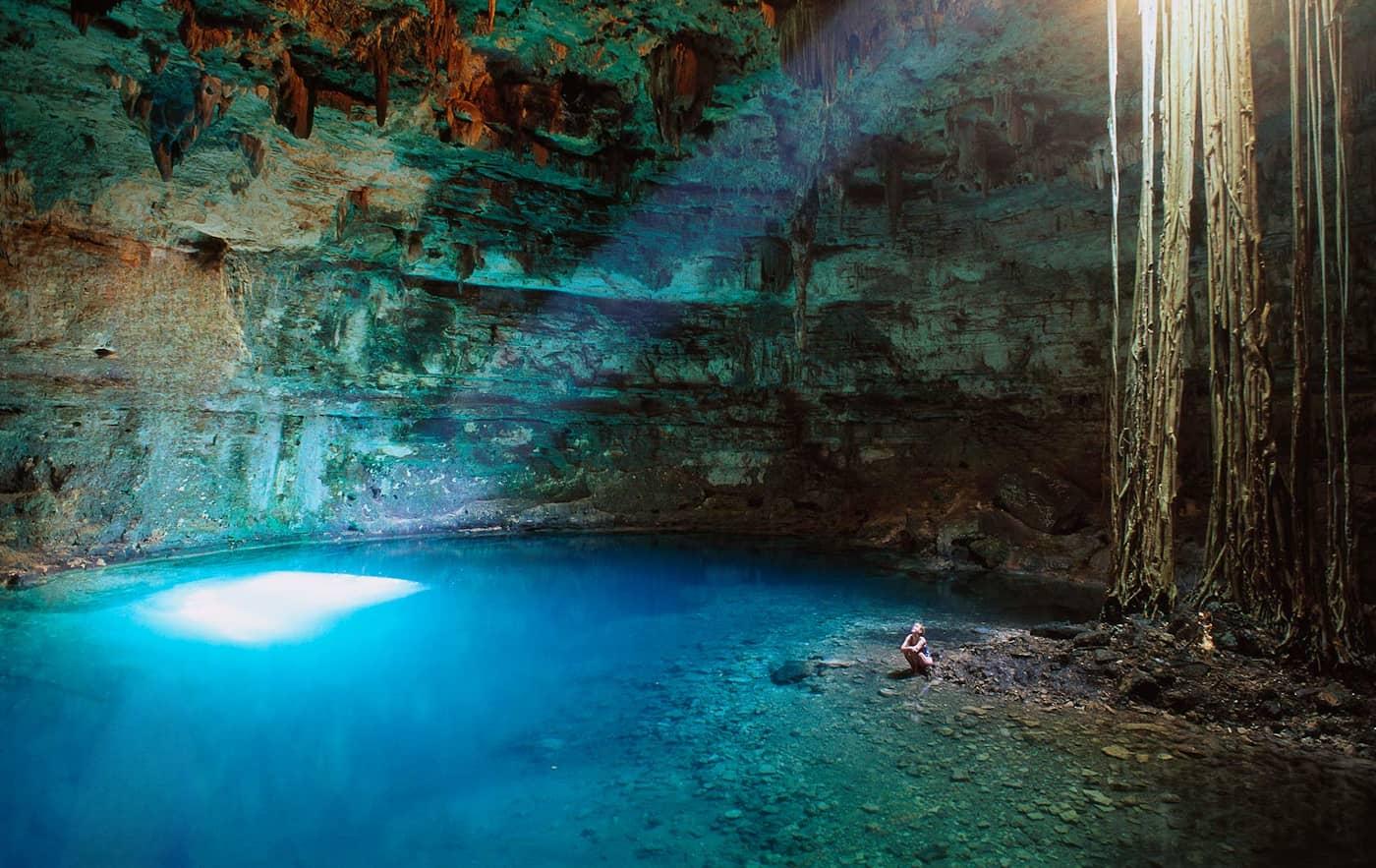 Cenote Samula.