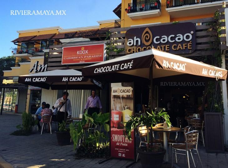 Tienda de Ah Cacao en Quinta y Constituyentes. Foto de Rivieramaya.mx