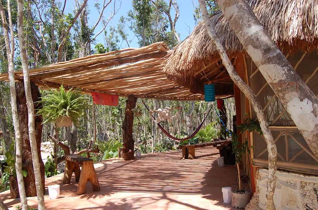 Pueblo Sacbe-temazcales-Riviera Maya