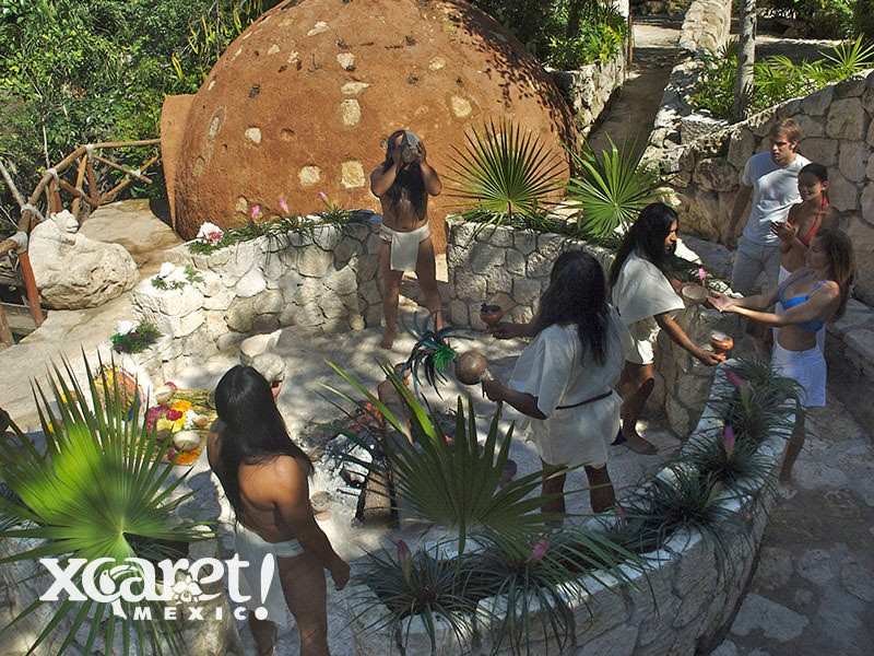 Xcaret-temazcal-Riviera Maya
