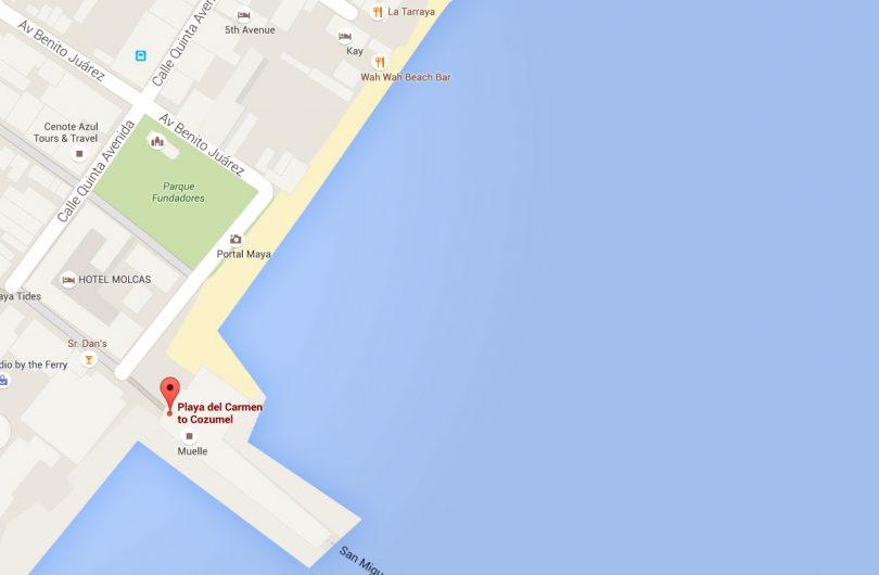 Cómo Llegar De Playa Del Carmen A Cozumel Riviera Maya