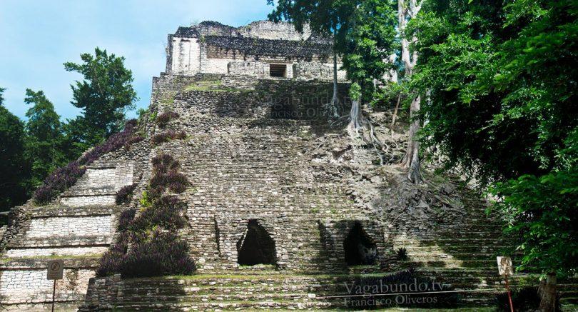 Dzibanché. Templo del señor de Dzibanché.