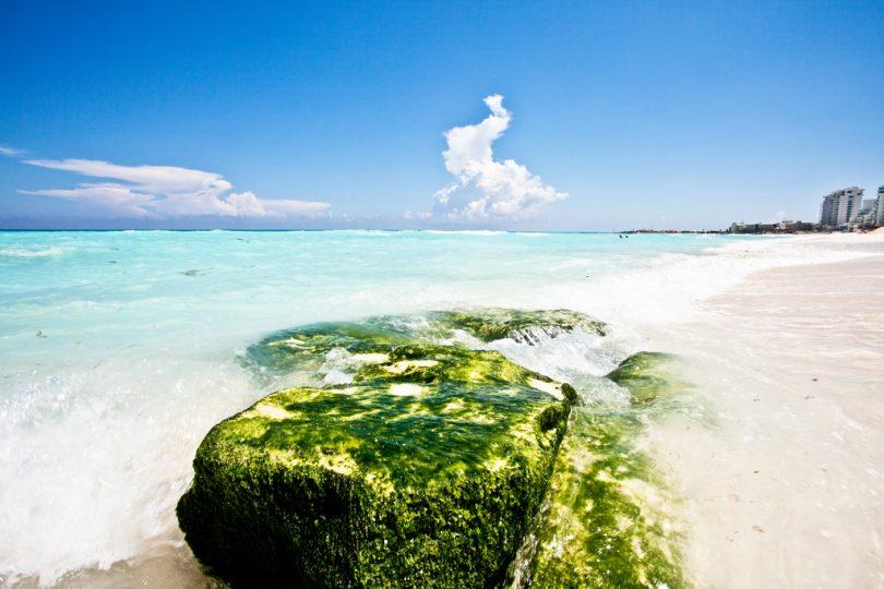 Playa de Cancún. CC. Foto de Milton Correa.