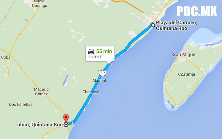 Ruta Playa-Tulum.