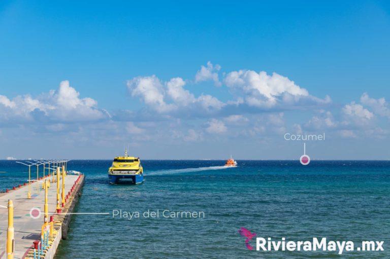 Ferry Playa del Carmen-Cozumel